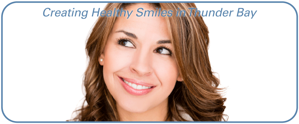 Creating Healthy Smiles in Thunder Bay - Woman Smiling