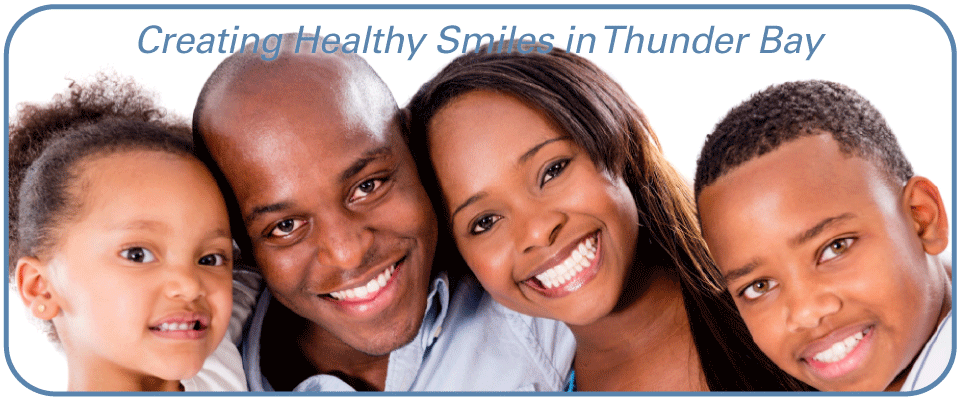 Creating Healthy Smiles in Thunder Bay - Family Smiling